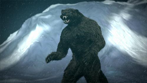 Kushtaka là nhân vật huyền thoại của thổ dân da đỏ vùng Alaska. Ảnh:Mitos, Monstruos y Leyendas.