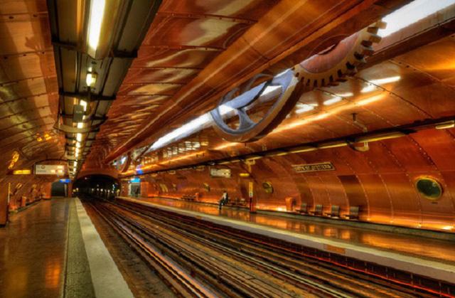 Chiêm ngưỡng 9 ga tàu điện ngầm đẹp nhất thế giới: Lộng lẫy không thua gì bảo tàng nghệ thuật - Ảnh 16.